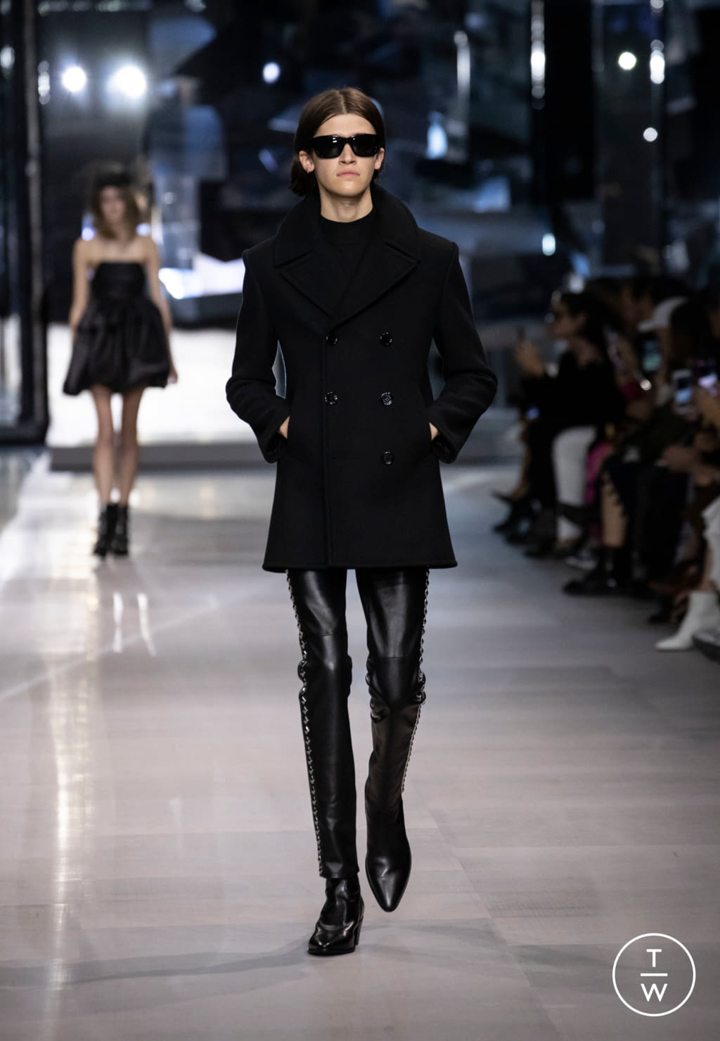 Fashion Week Paris Spring/Summer 2019 look 76 from the Celine collection womenswear