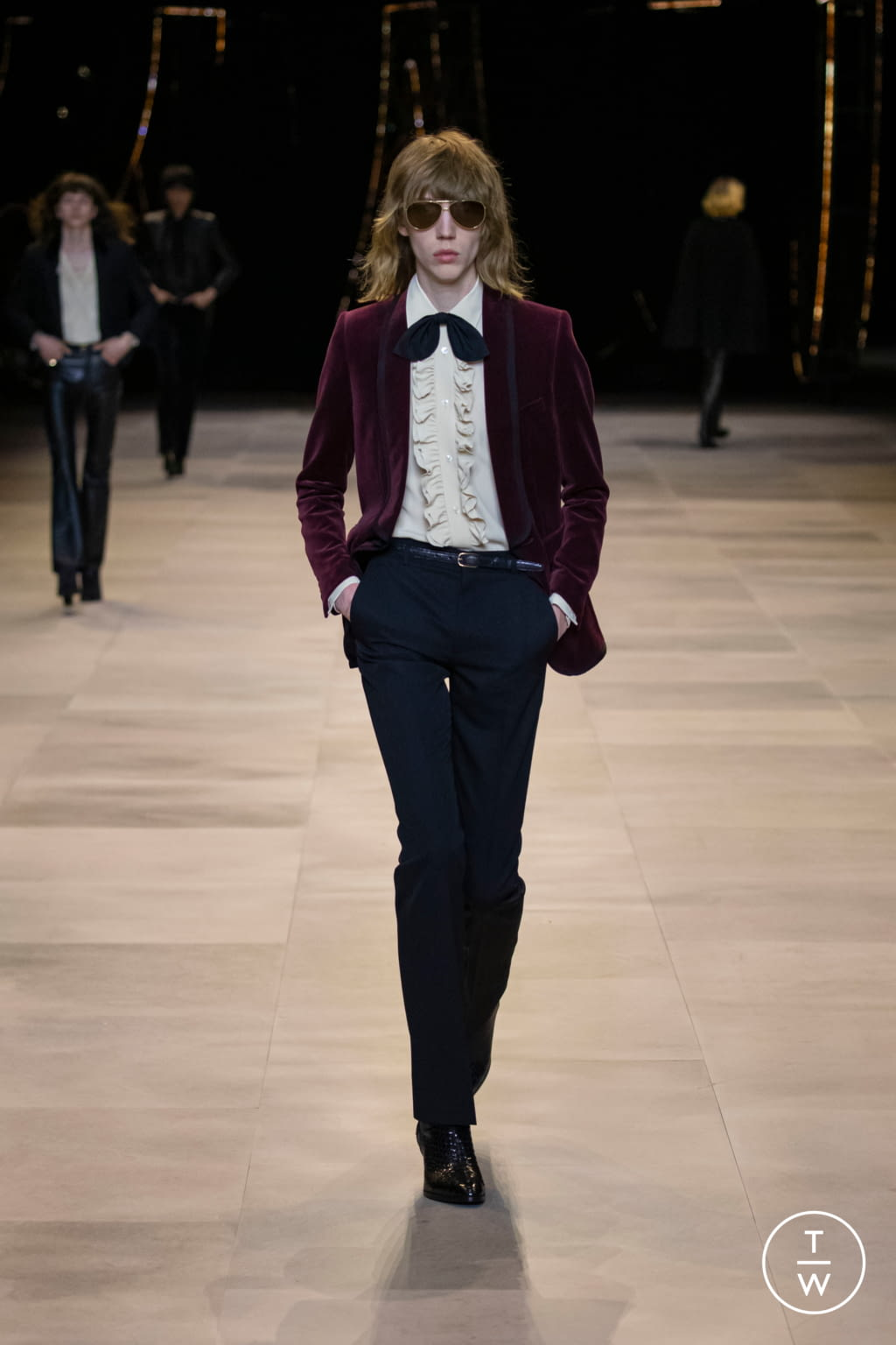 Fashion Week Paris Fall/Winter 2020 look 77 from the Celine collection womenswear