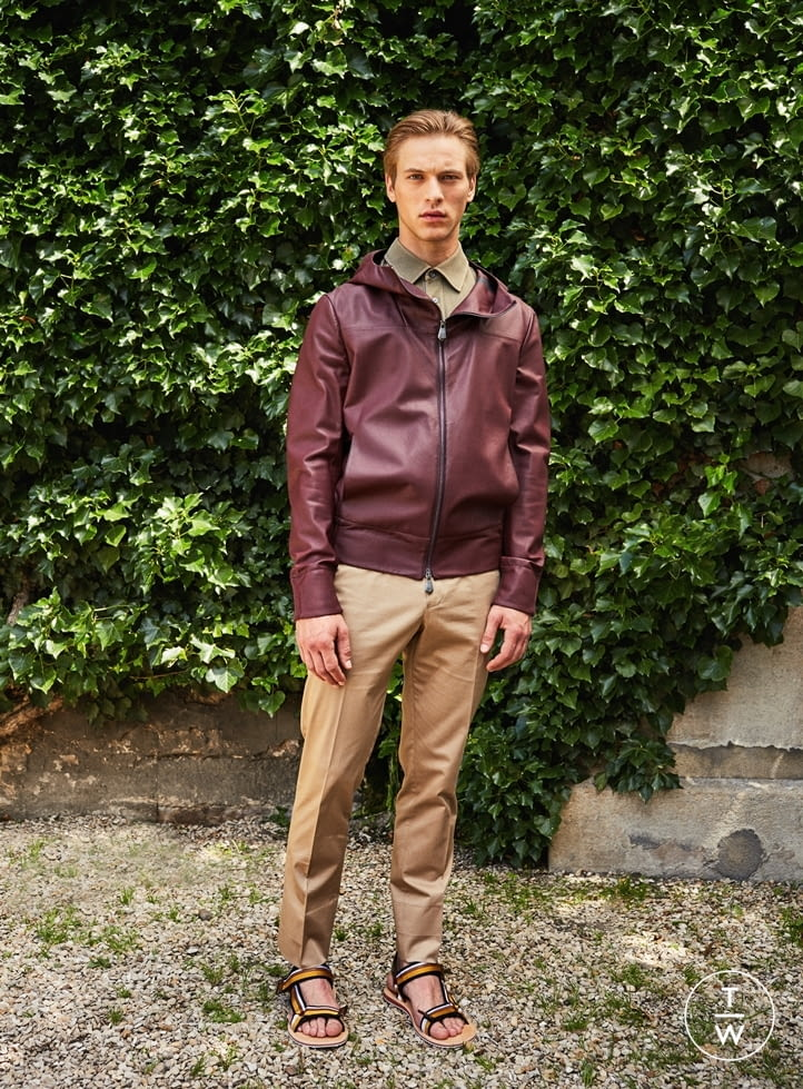 Fashion Week Paris Spring/Summer 2017 look 8 from the Berluti collection menswear