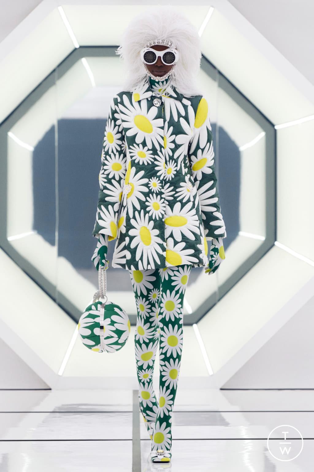 Fashion Week Milan Fall/Winter 2020 look 13 de la collection 8 Moncler Richard Quinn womenswear