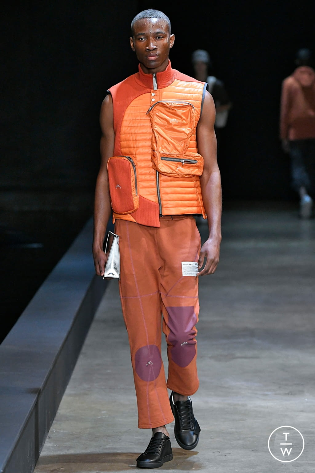 Fashion Week London Fall/Winter 2019 look 6 from the A Cold Wall collection menswear