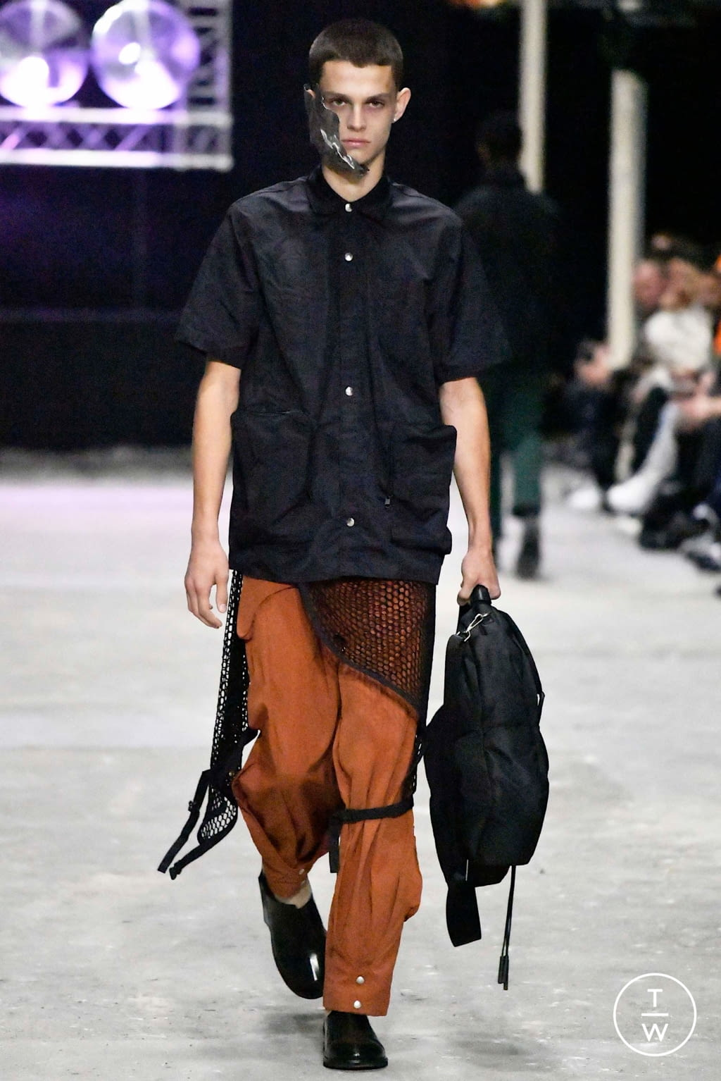 Fashion Week London Spring/Summer 2020 look 14 from the A Cold Wall collection menswear