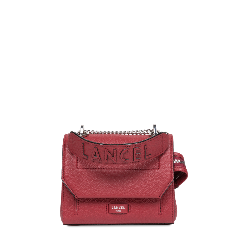 Fashion Week Paris Fall/Winter 2021 look 1 from the Lancel collection womenswear accessories