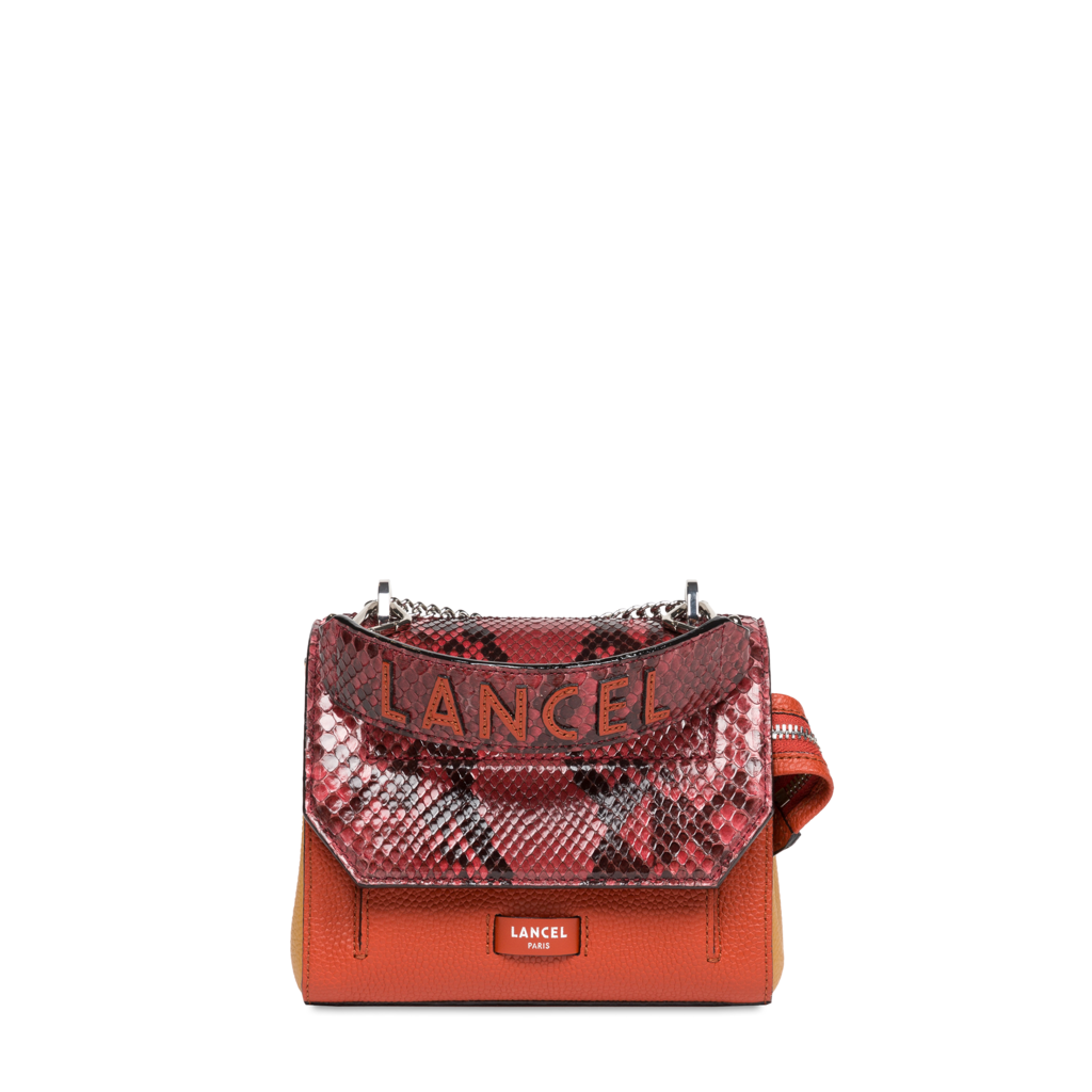 Fashion Week Paris Fall/Winter 2021 look 10 from the Lancel collection womenswear accessories