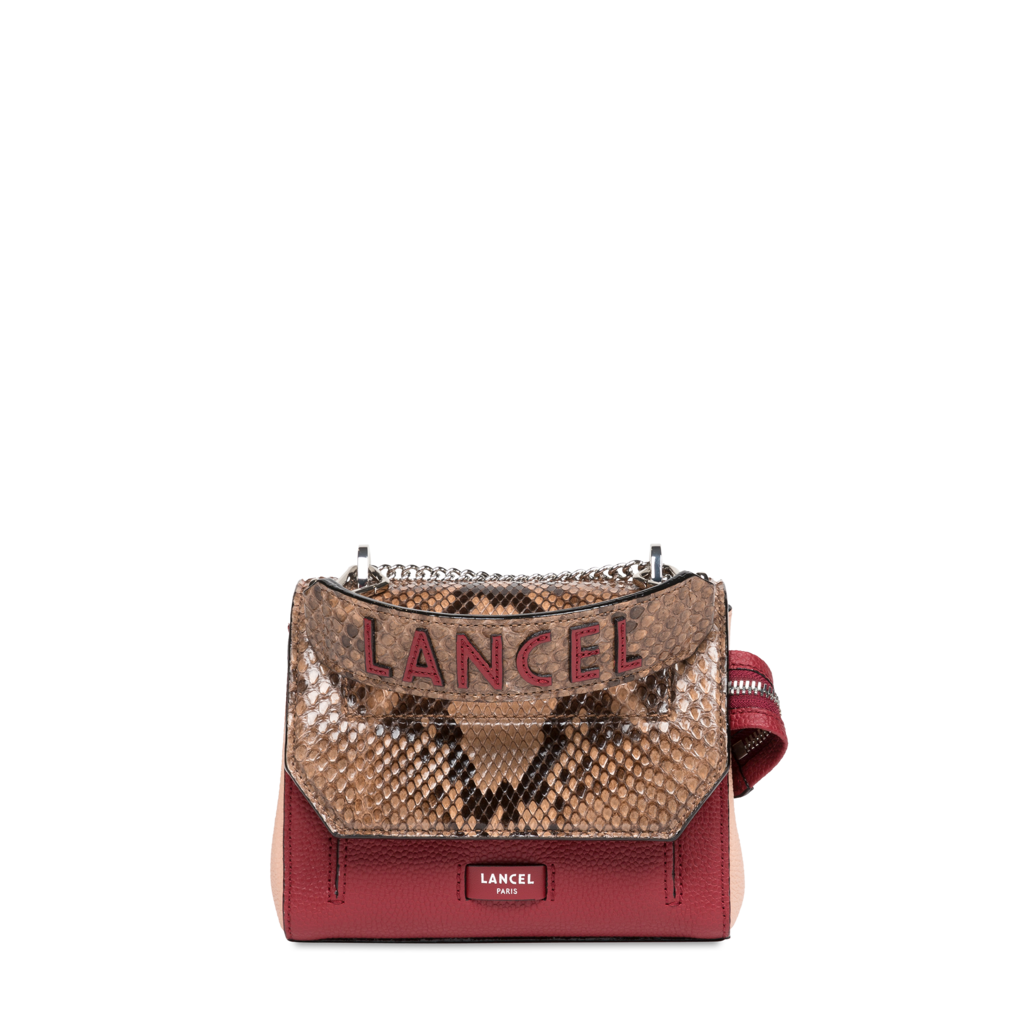 Fashion Week Paris Fall/Winter 2021 look 11 from the Lancel collection womenswear accessories