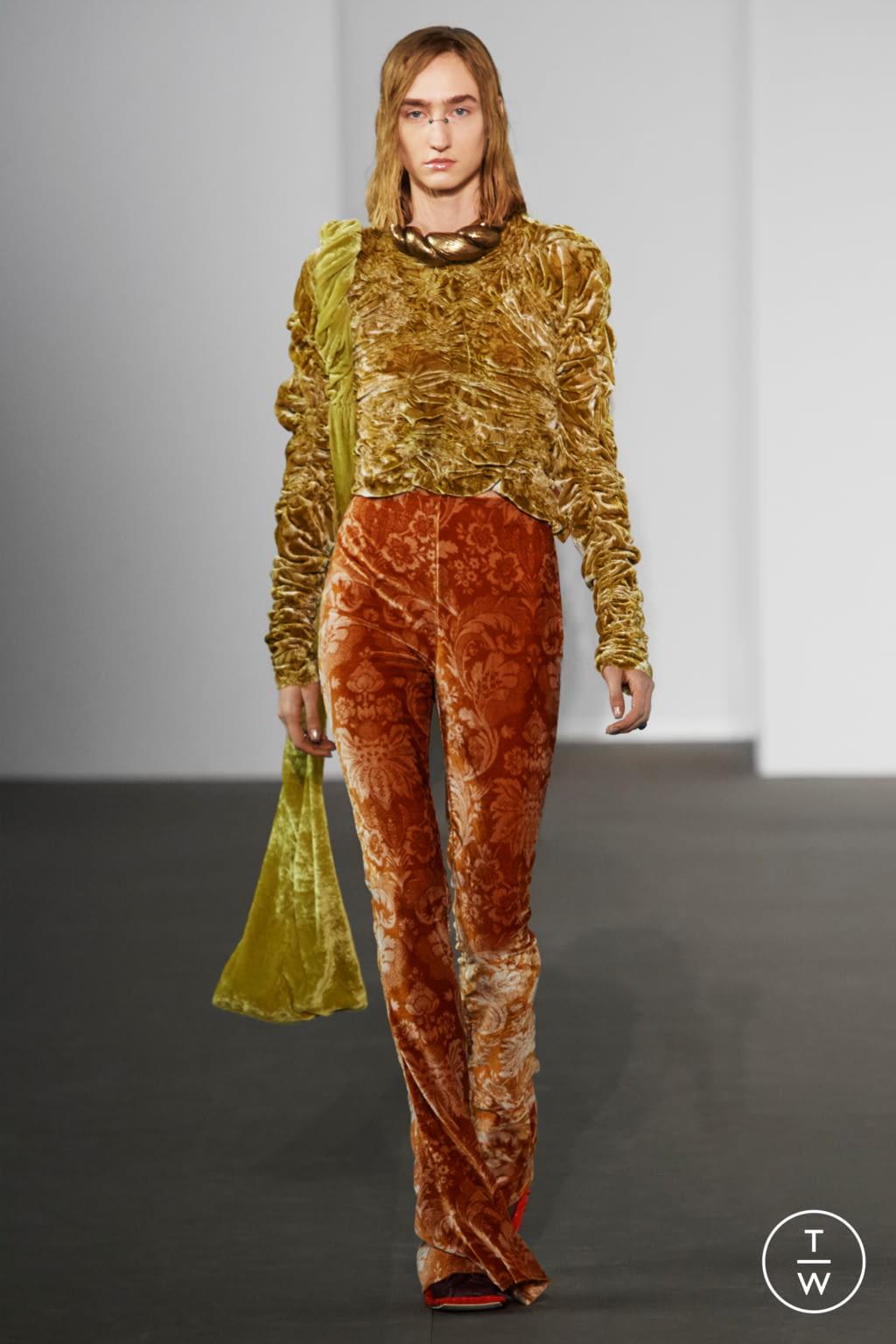 Fashion Week Paris Fall/Winter 2020 look 13 de la collection Acne Studios womenswear