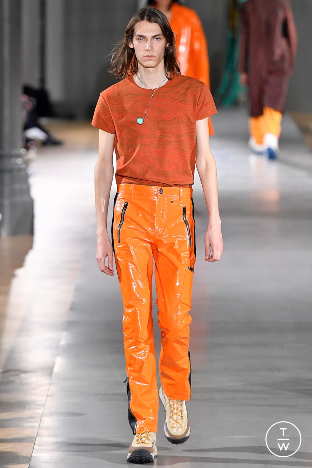 Fashion Week Paris Fall/Winter 2019 look 31 from the Acne Studios collection menswear