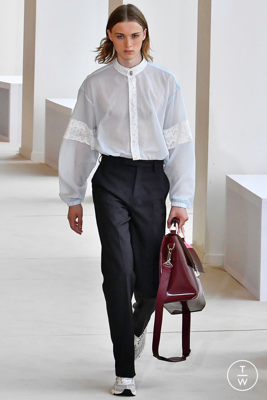Fashion Week Paris Spring/Summer 2020 look 3 from the Acne Studios collection menswear