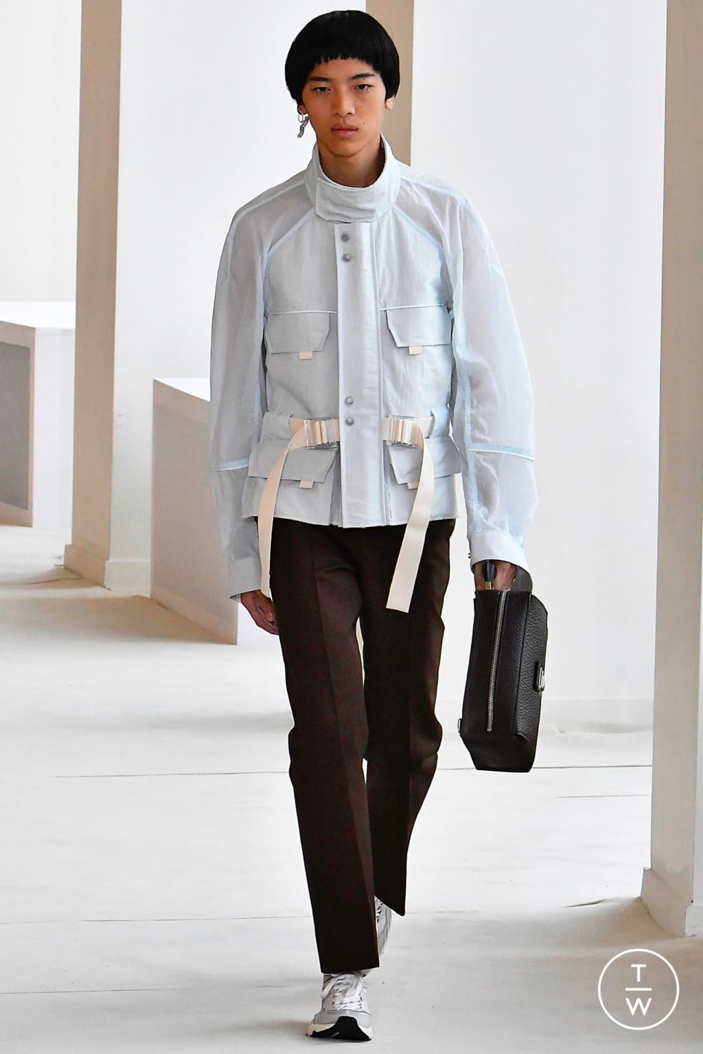 Fashion Week Paris Spring/Summer 2020 look 4 from the Acne Studios collection menswear