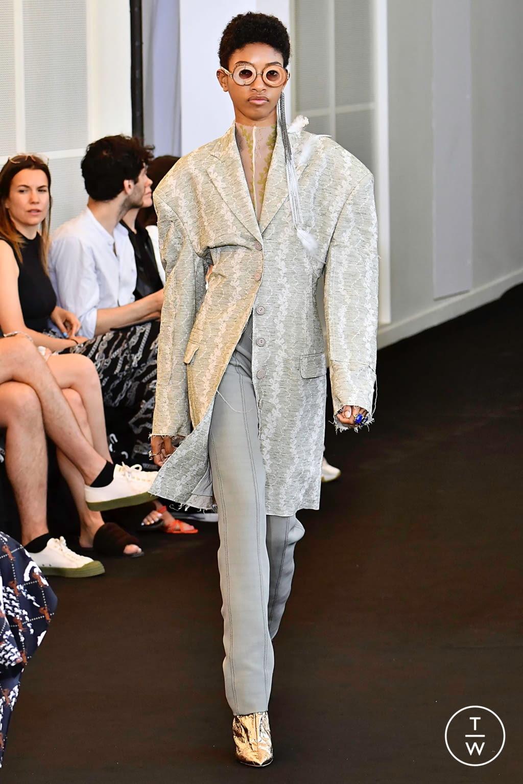 Fashion Week Paris Spring/Summer 2020 look 27 de la collection Acne Studios womenswear