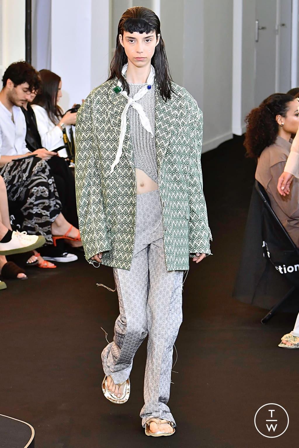 Fashion Week Paris Spring/Summer 2020 look 29 de la collection Acne Studios womenswear