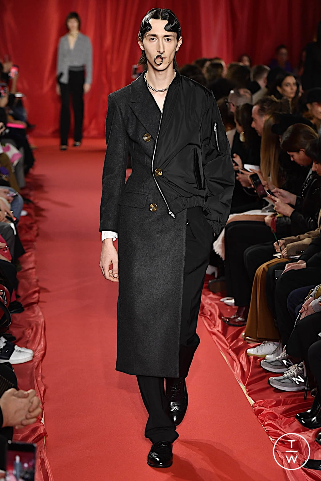 Fashion Week Milan Fall/Winter 2020 look 5 from the Act n°1 collection womenswear