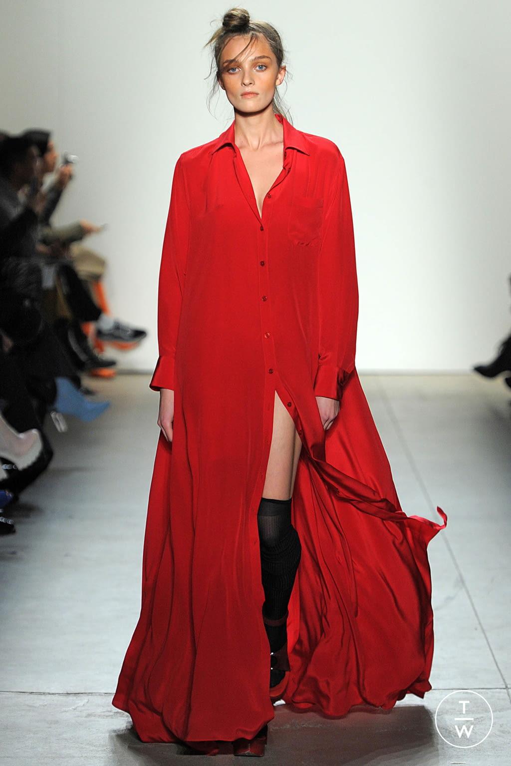 Fashion Week New York Fall/Winter 2017 look 25 from the Adam Selman collection womenswear