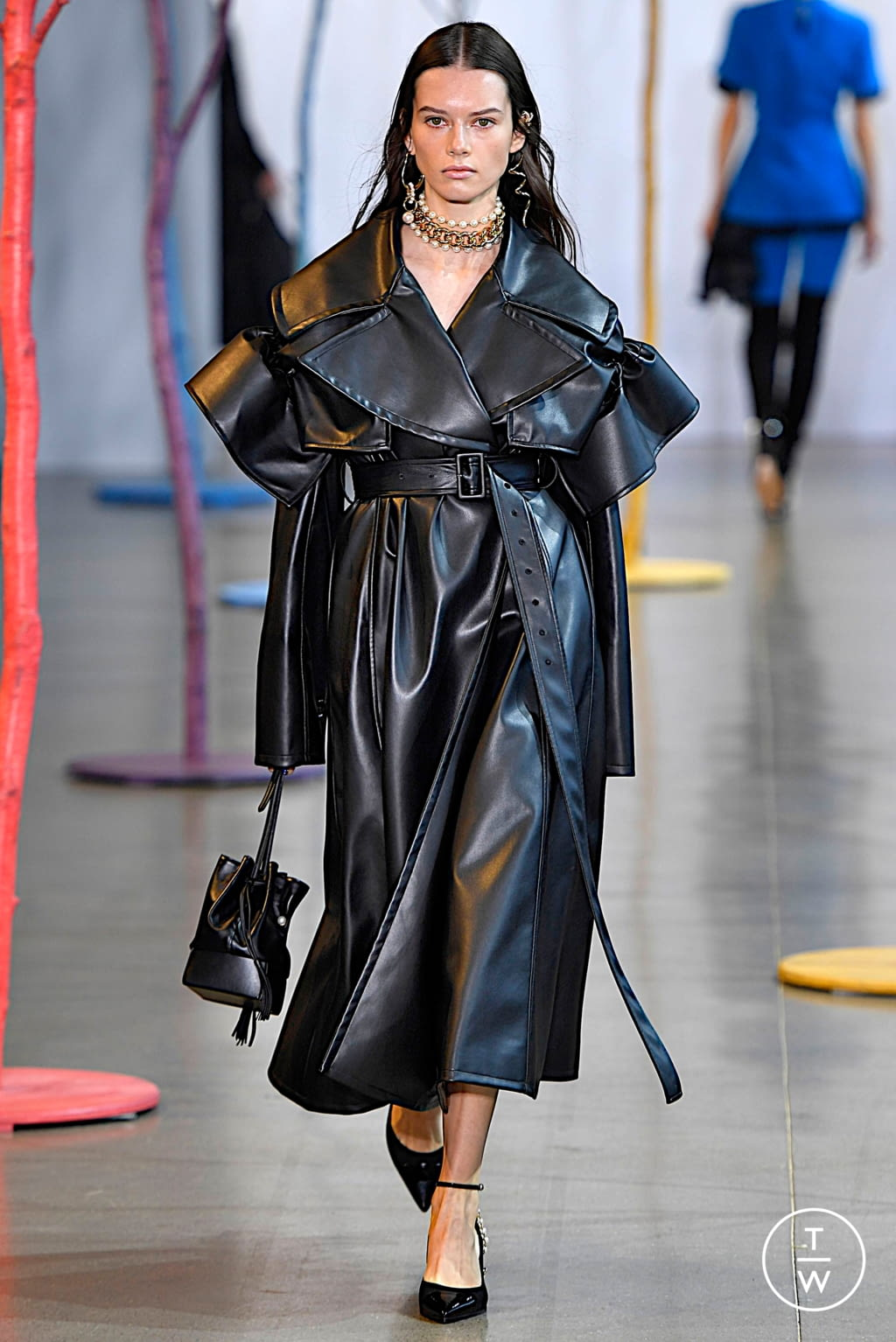 Fashion Week New York Fall/Winter 2019 look 25 from the Adeam collection 女装