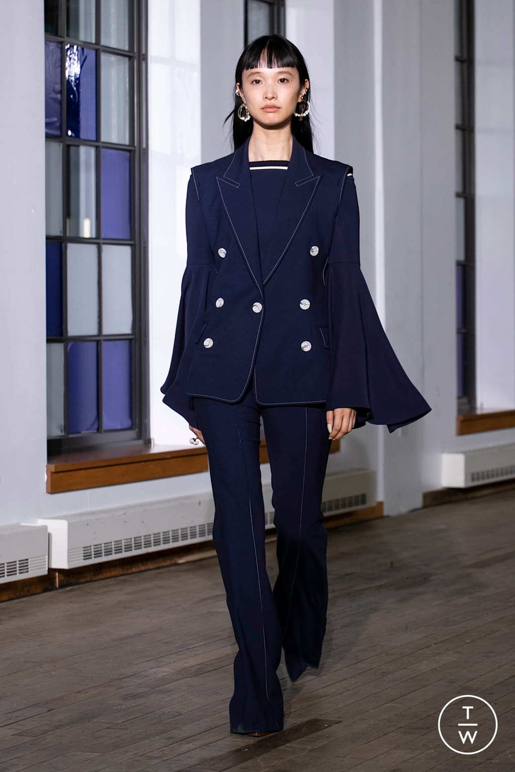 Fashion Week New York Spring/Summer 2020 look 1 from the Adeam collection womenswear