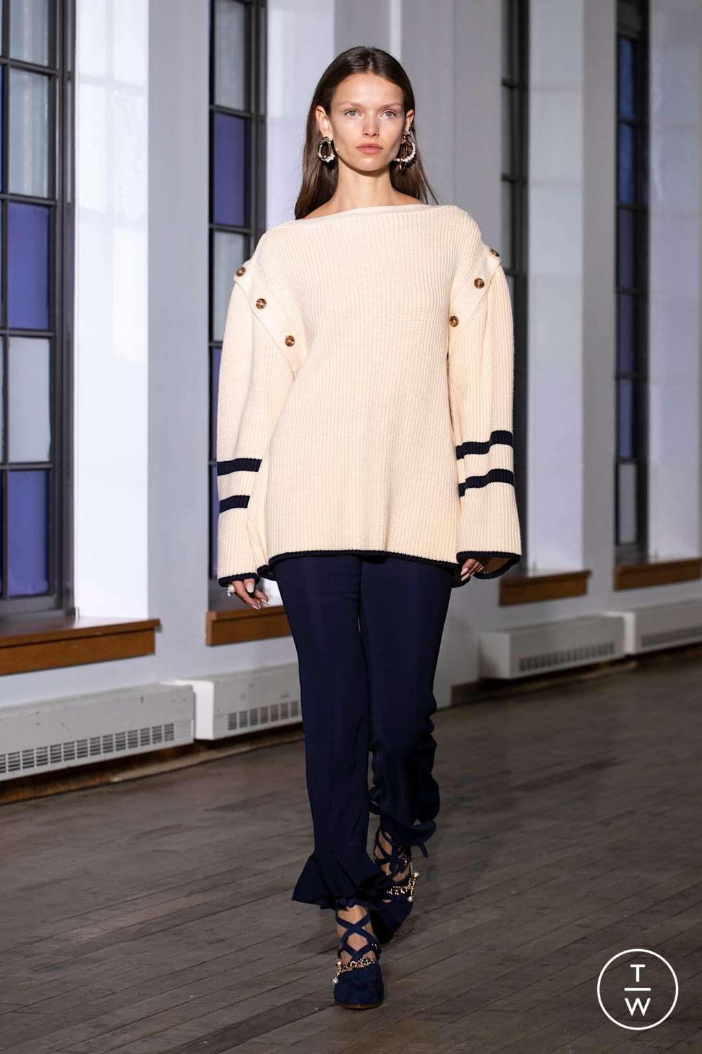 Fashion Week New York Spring/Summer 2020 look 2 from the Adeam collection womenswear