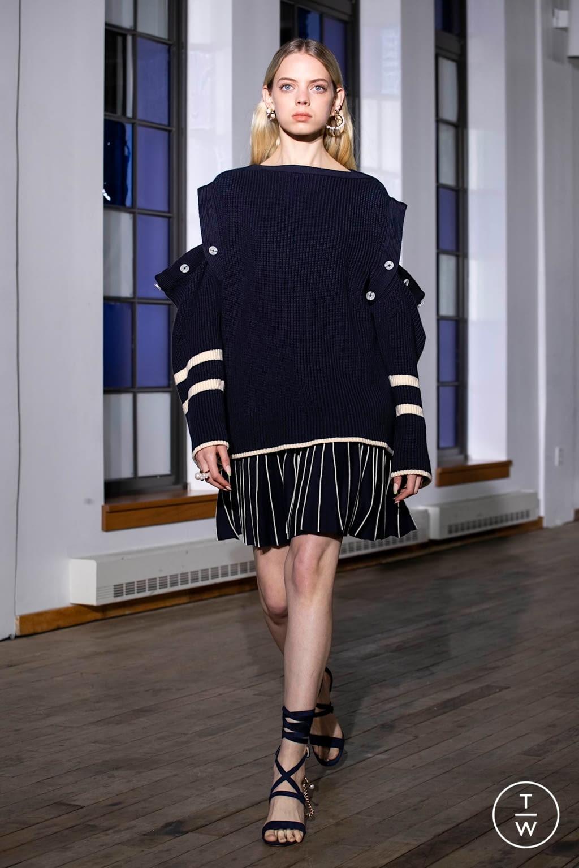 Fashion Week New York Spring/Summer 2020 look 5 de la collection Adeam womenswear