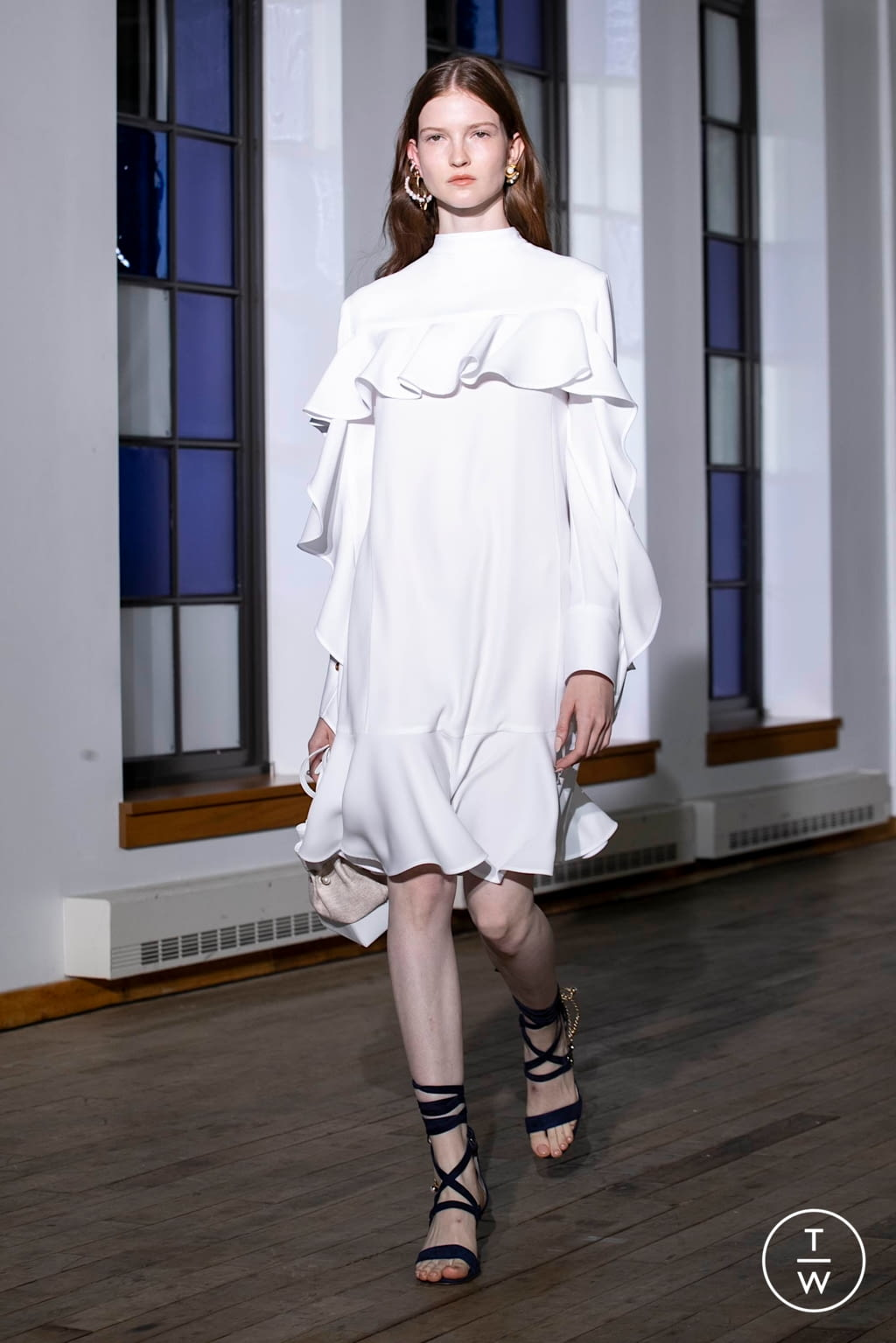 Fashion Week New York Spring/Summer 2020 look 6 from the Adeam collection 女装