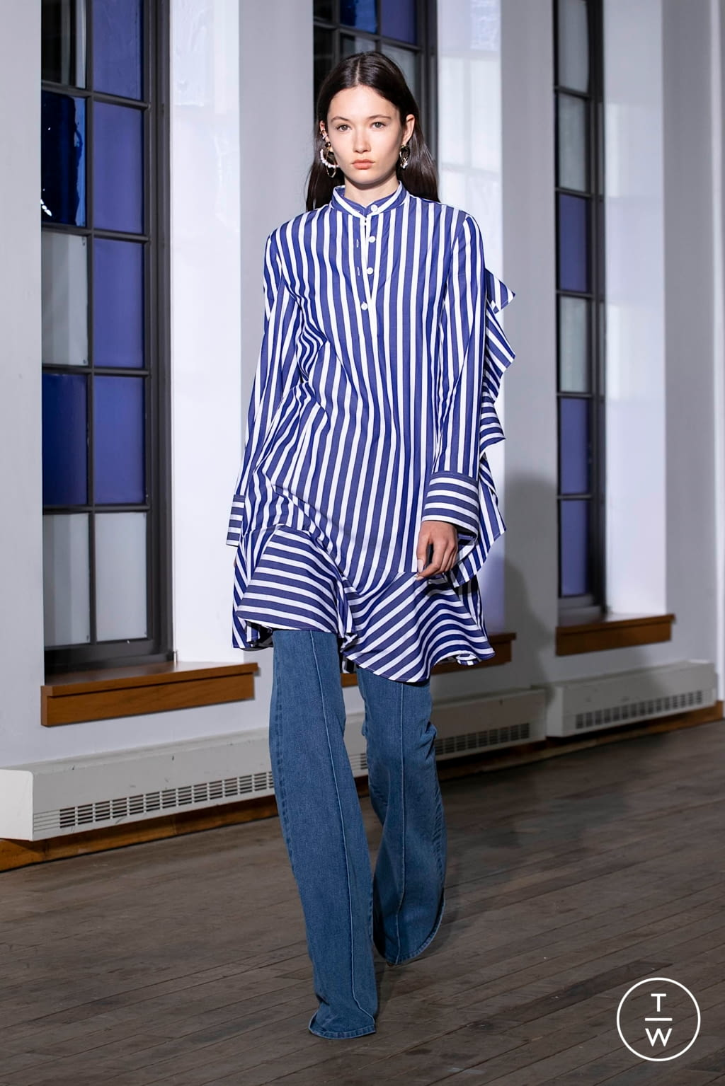 Fashion Week New York Spring/Summer 2020 look 8 from the Adeam collection womenswear
