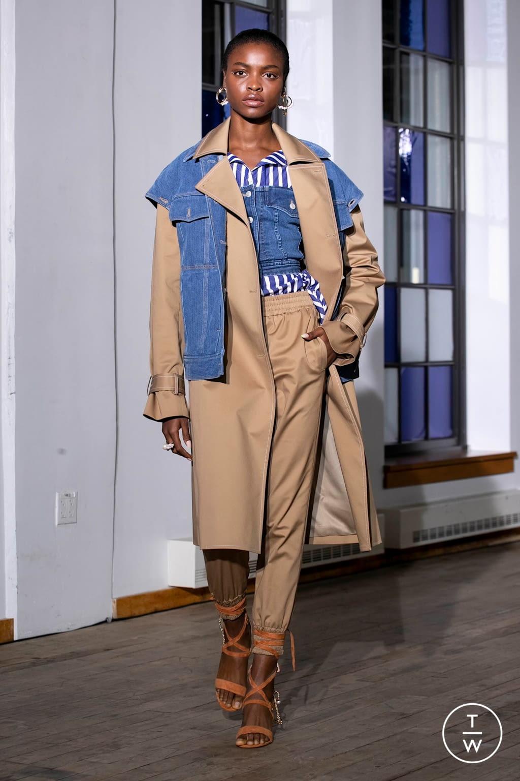 Fashion Week New York Spring/Summer 2020 look 9 de la collection Adeam womenswear
