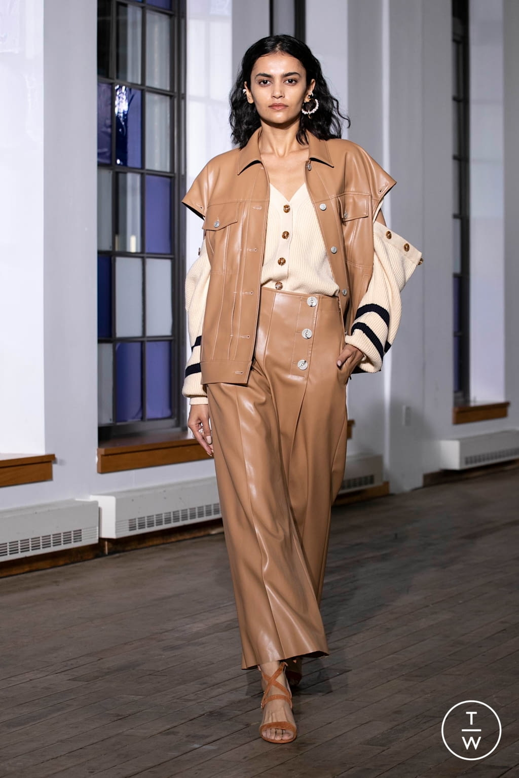 Fashion Week New York Spring/Summer 2020 look 13 from the Adeam collection womenswear