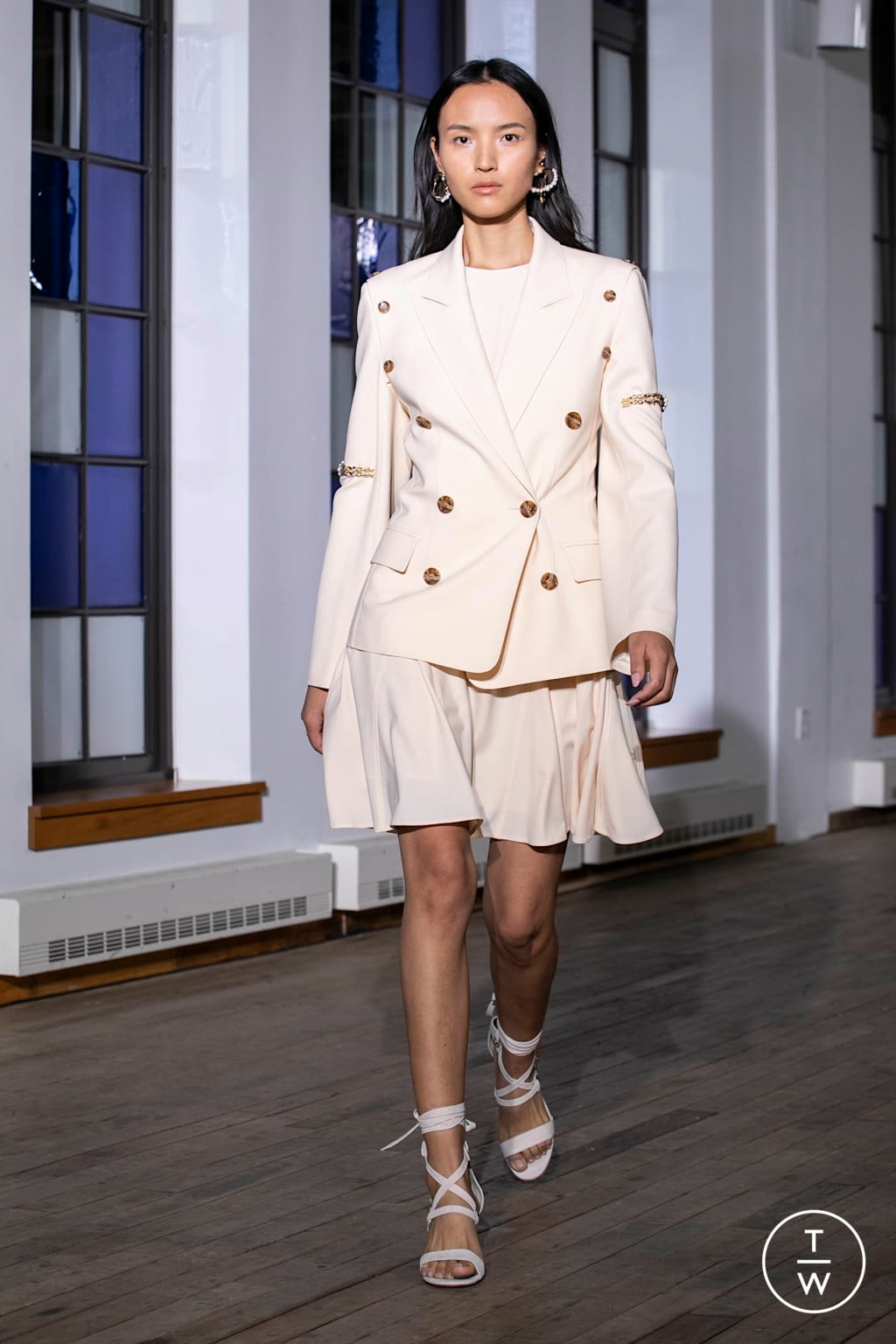 Fashion Week New York Spring/Summer 2020 look 15 from the Adeam collection womenswear
