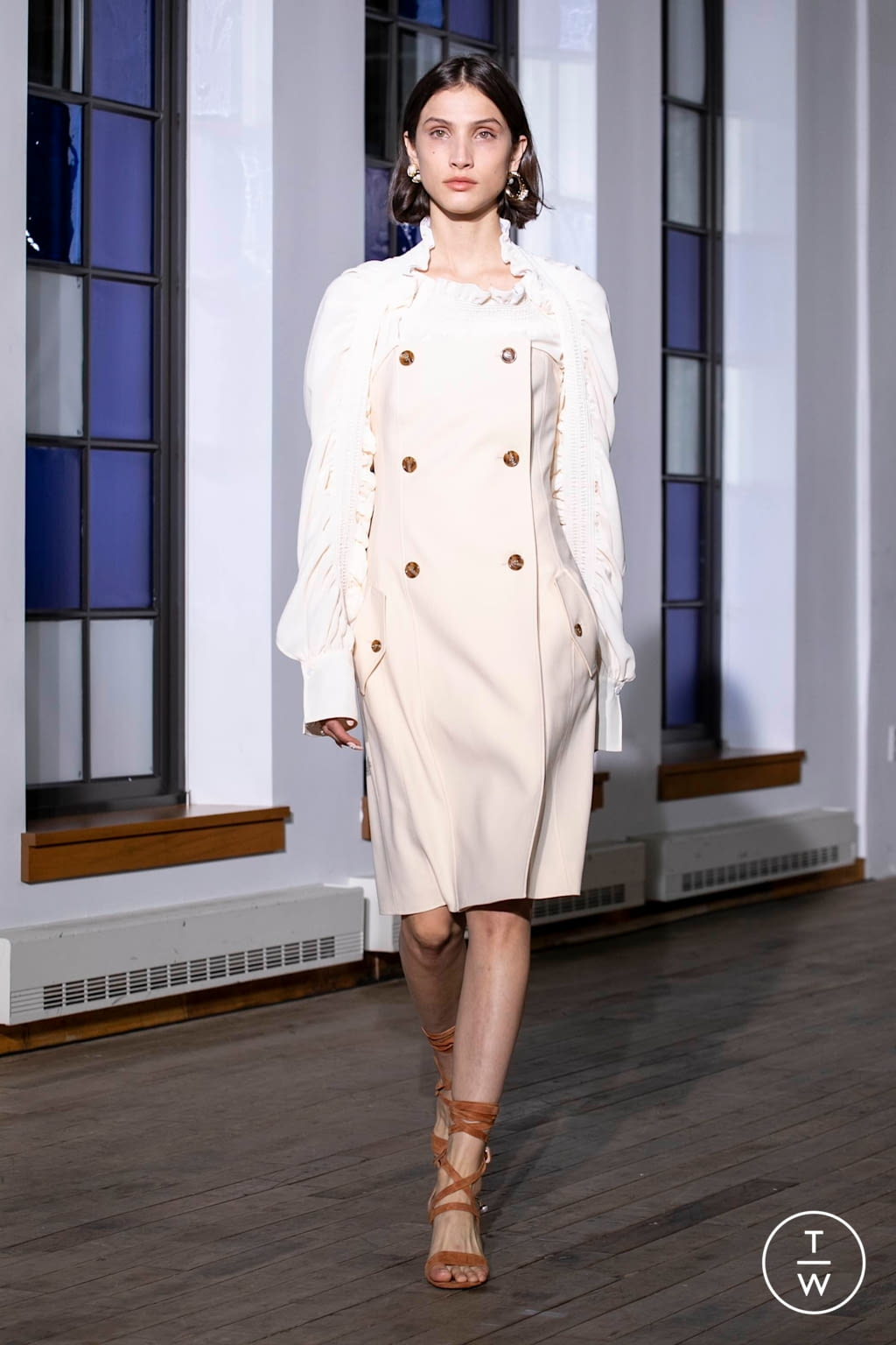 Fashion Week New York Spring/Summer 2020 look 16 from the Adeam collection womenswear