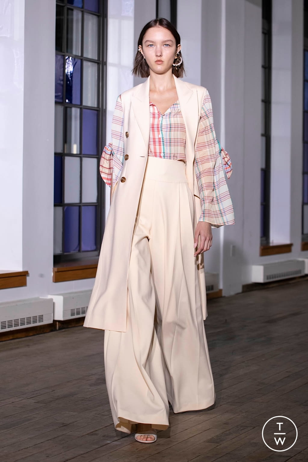 Fashion Week New York Spring/Summer 2020 look 17 from the Adeam collection womenswear