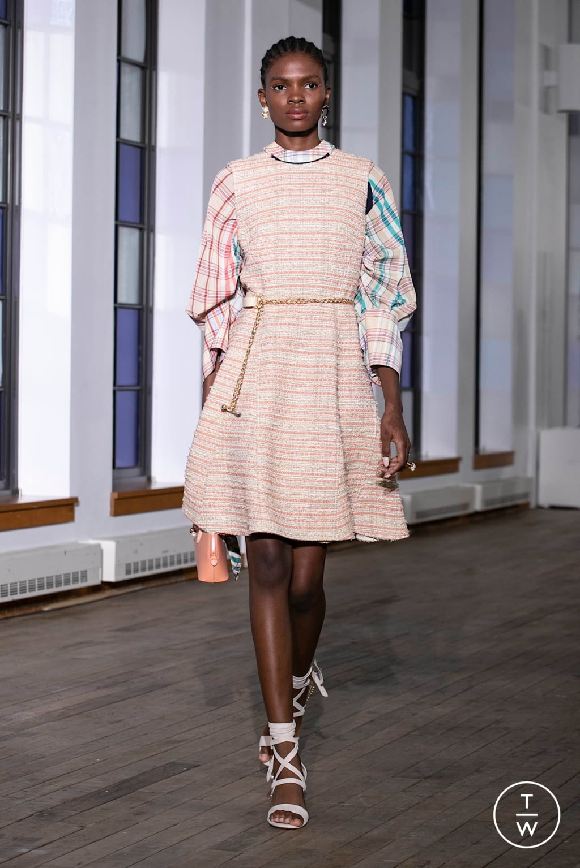 Fashion Week New York Spring/Summer 2020 look 18 de la collection Adeam womenswear