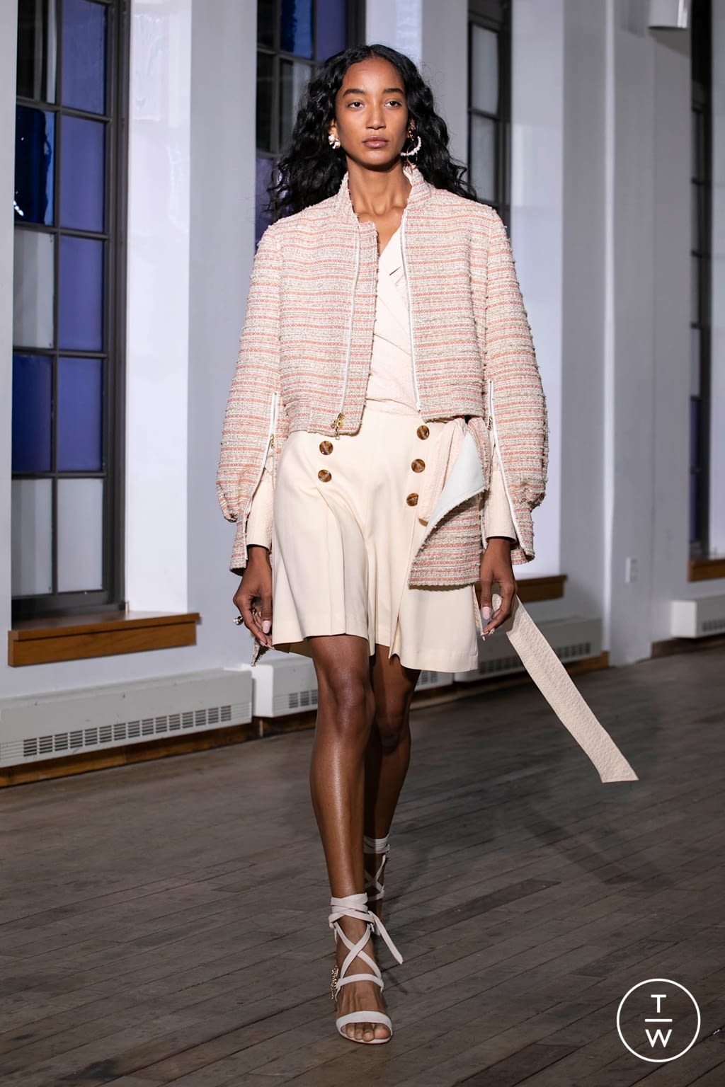 Fashion Week New York Spring/Summer 2020 look 19 from the Adeam collection womenswear