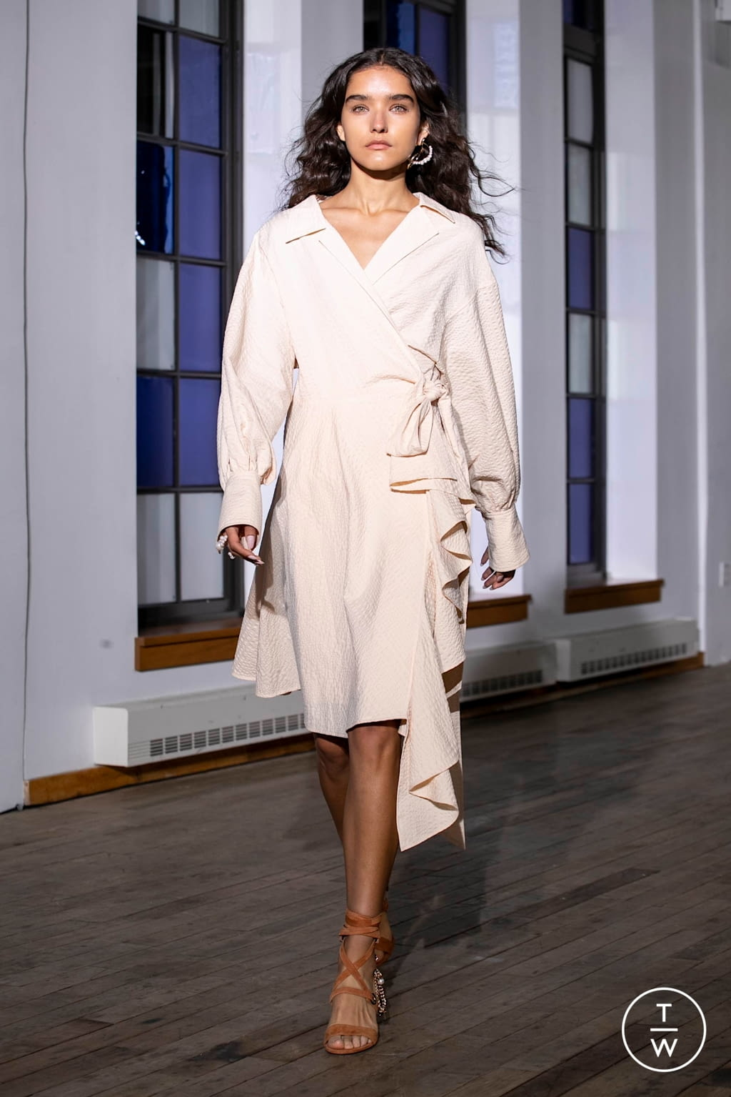 Fashion Week New York Spring/Summer 2020 look 20 from the Adeam collection womenswear