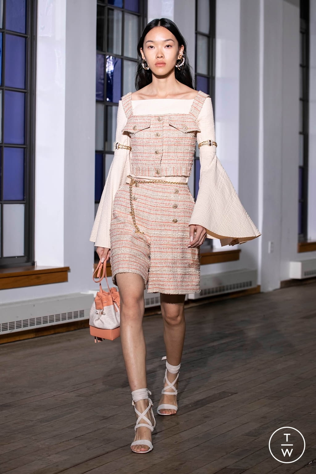Fashion Week New York Spring/Summer 2020 look 22 from the Adeam collection womenswear