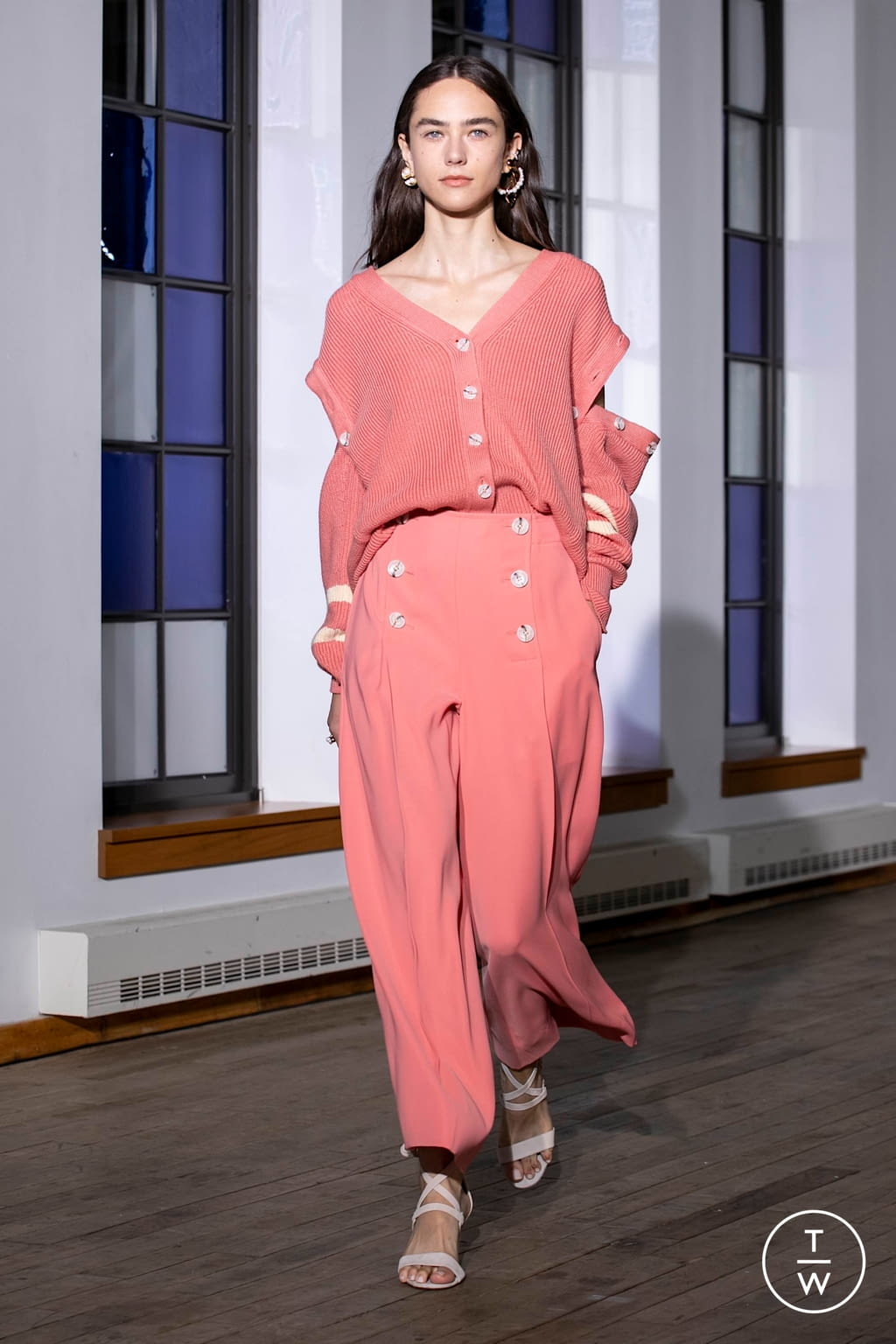 Fashion Week New York Spring/Summer 2020 look 21 from the Adeam collection womenswear