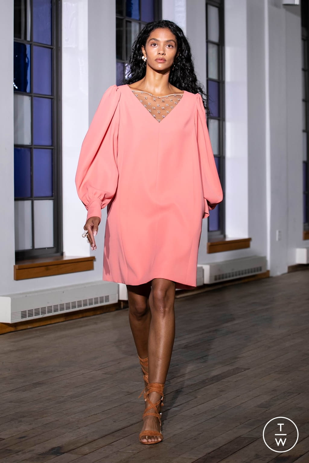 Fashion Week New York Spring/Summer 2020 look 23 from the Adeam collection womenswear