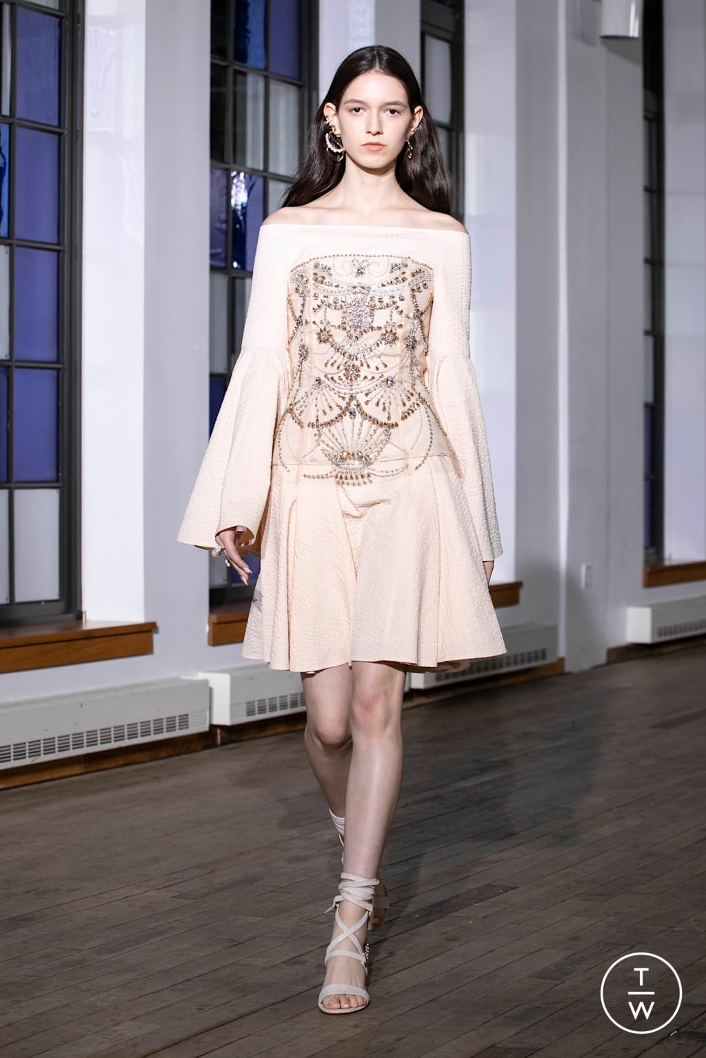 Fashion Week New York Spring/Summer 2020 look 26 from the Adeam collection womenswear