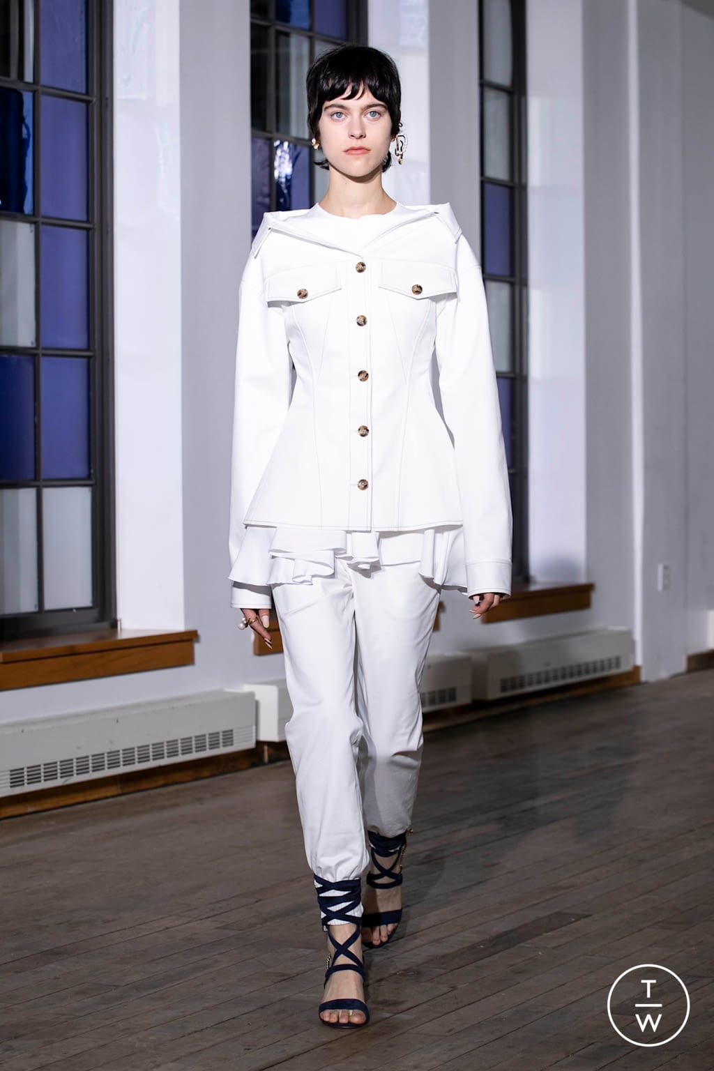 Fashion Week New York Spring/Summer 2020 look 32 from the Adeam collection womenswear