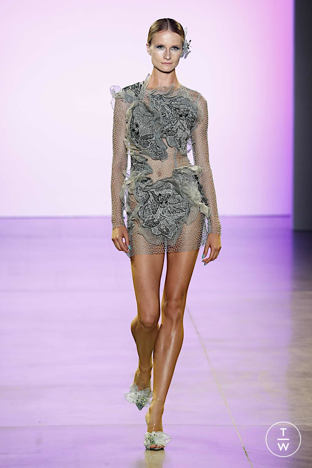 Fashion Week New York Spring/Summer 2020 look 19 from the Affair collection 女装