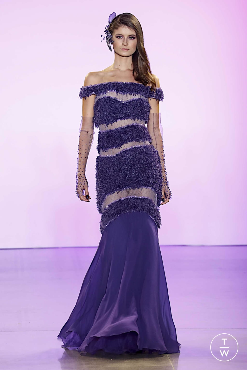 Fashion Week New York Spring/Summer 2020 look 20 from the Affair collection 女装