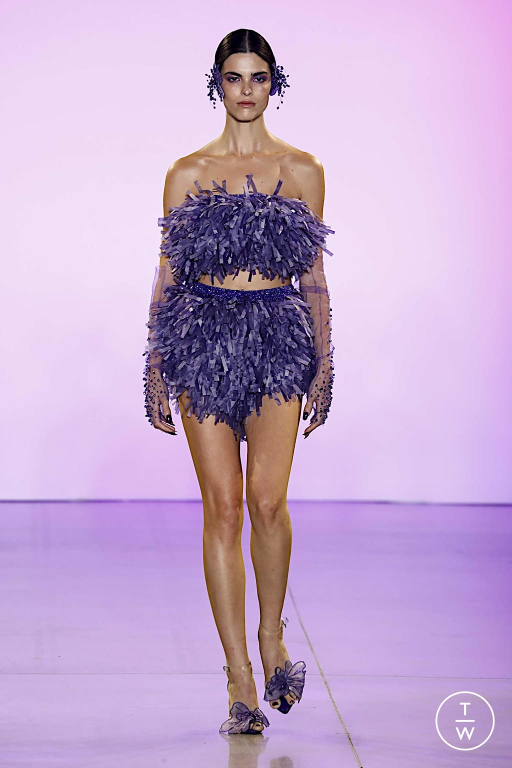 Fashion Week New York Spring/Summer 2020 look 26 from the Affair collection womenswear