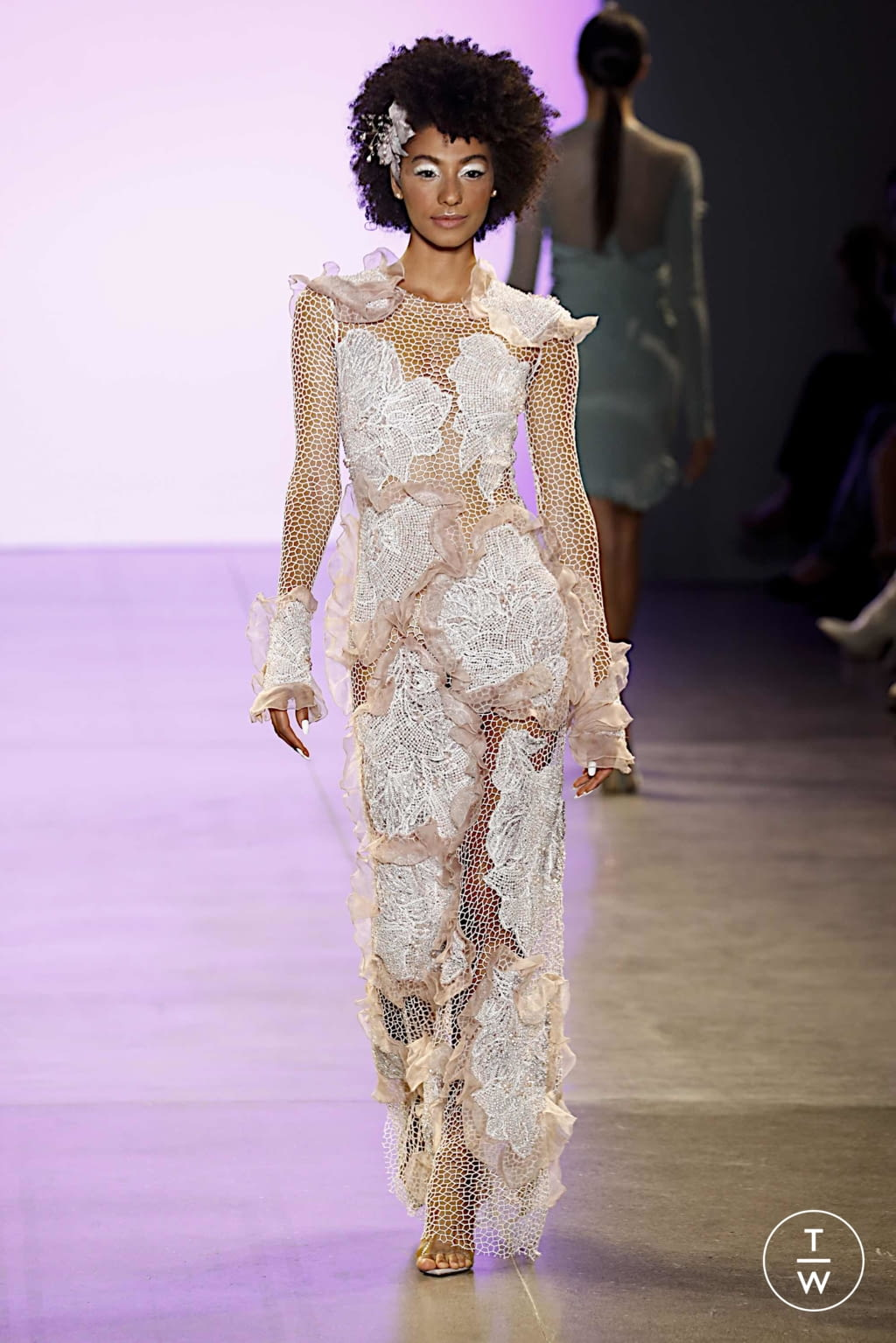 Fashion Week New York Spring/Summer 2020 look 27 from the Affair collection womenswear