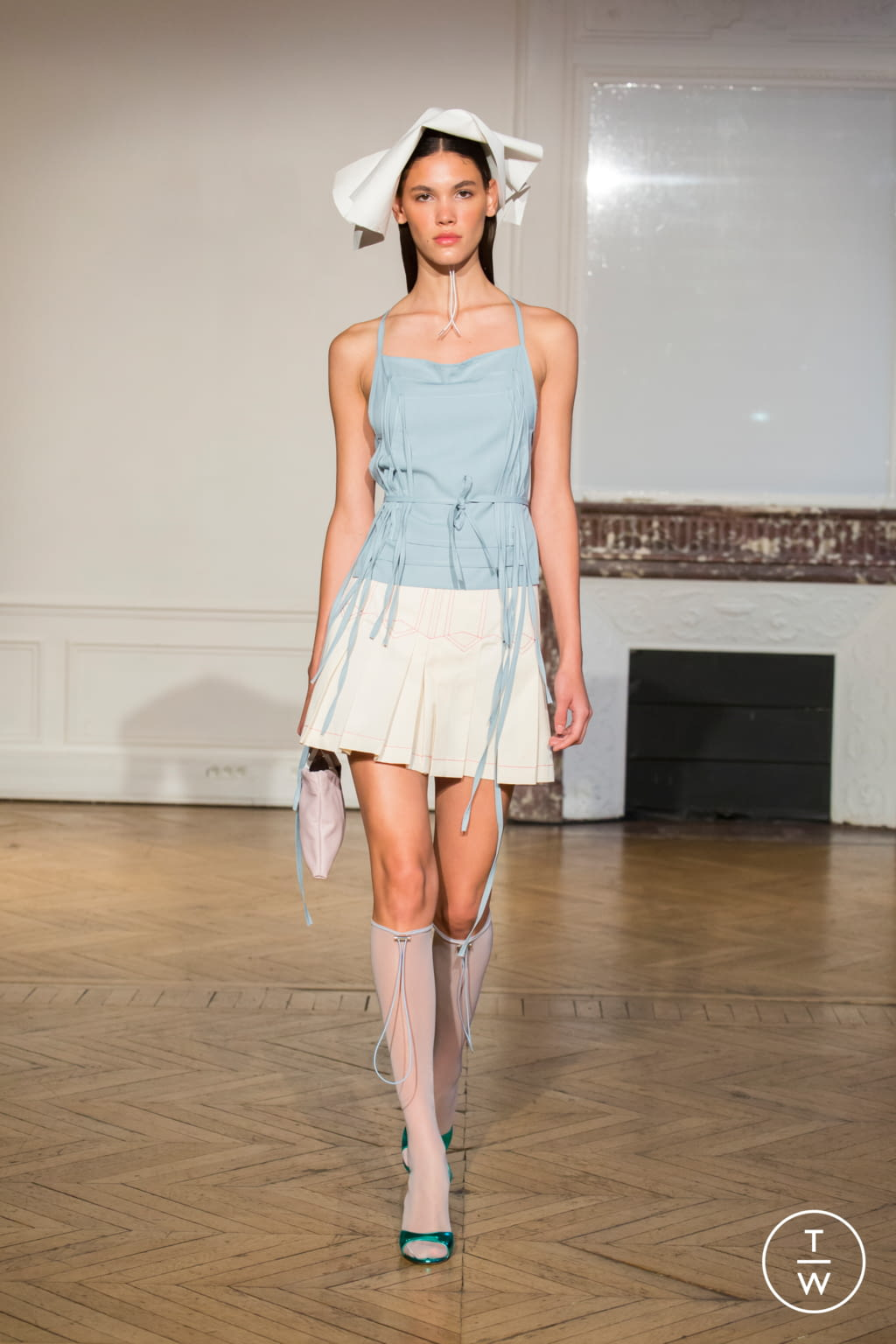 Fashion Week Paris Spring/Summer 2020 look 22 from the Afterhomework collection womenswear