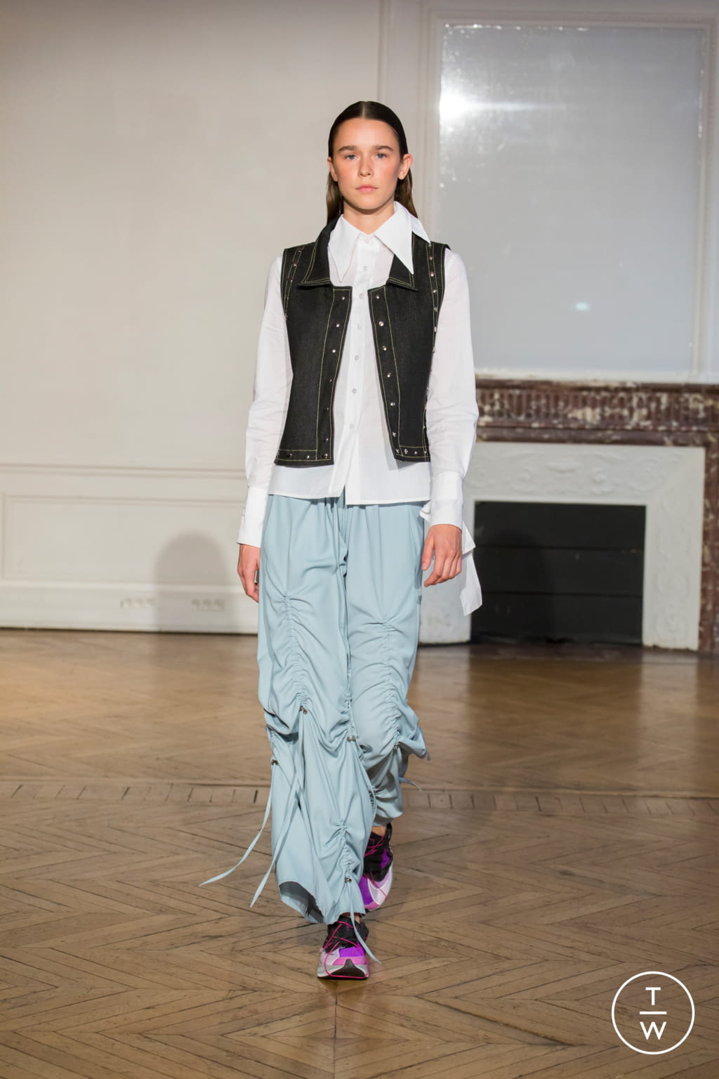 Fashion Week Paris Spring/Summer 2020 look 21 from the Afterhomework collection womenswear