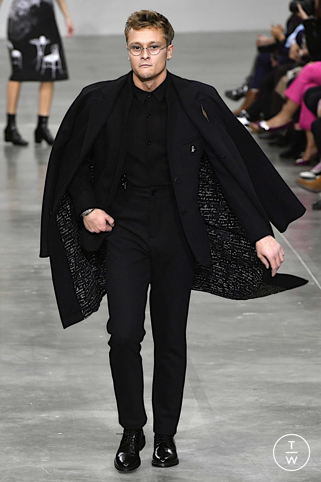 Fashion Week Paris Spring/Summer 2020 look 19 from the Agnès B collection womenswear