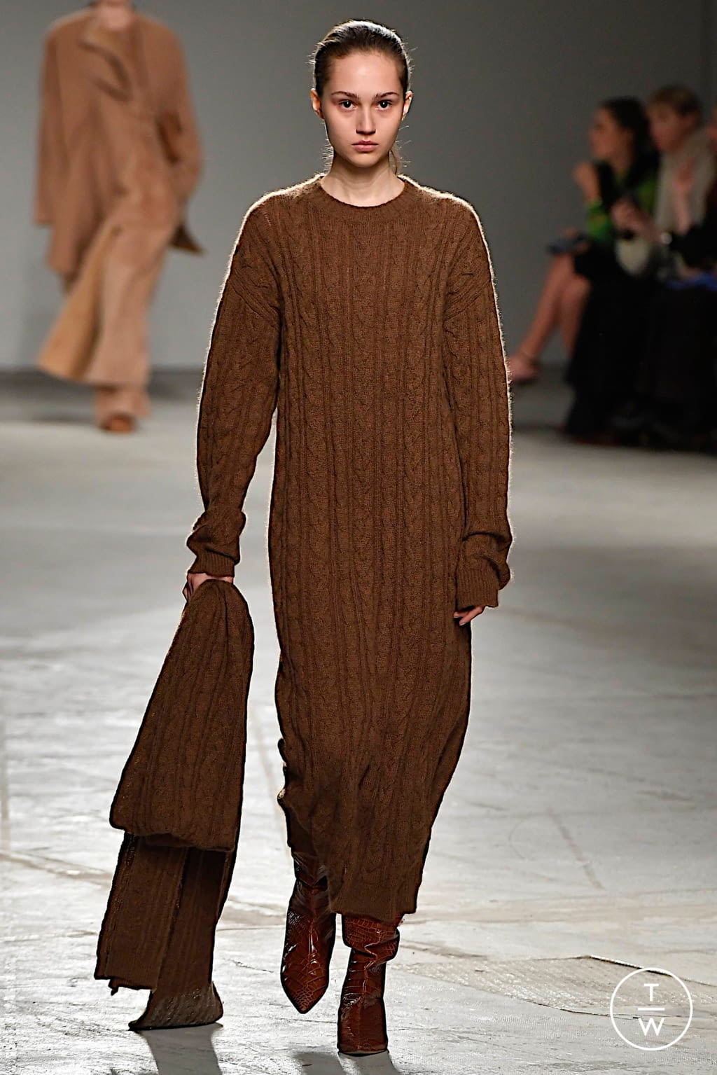 Fashion Week Milan Fall/Winter 2020 look 12 from the Agnona collection womenswear
