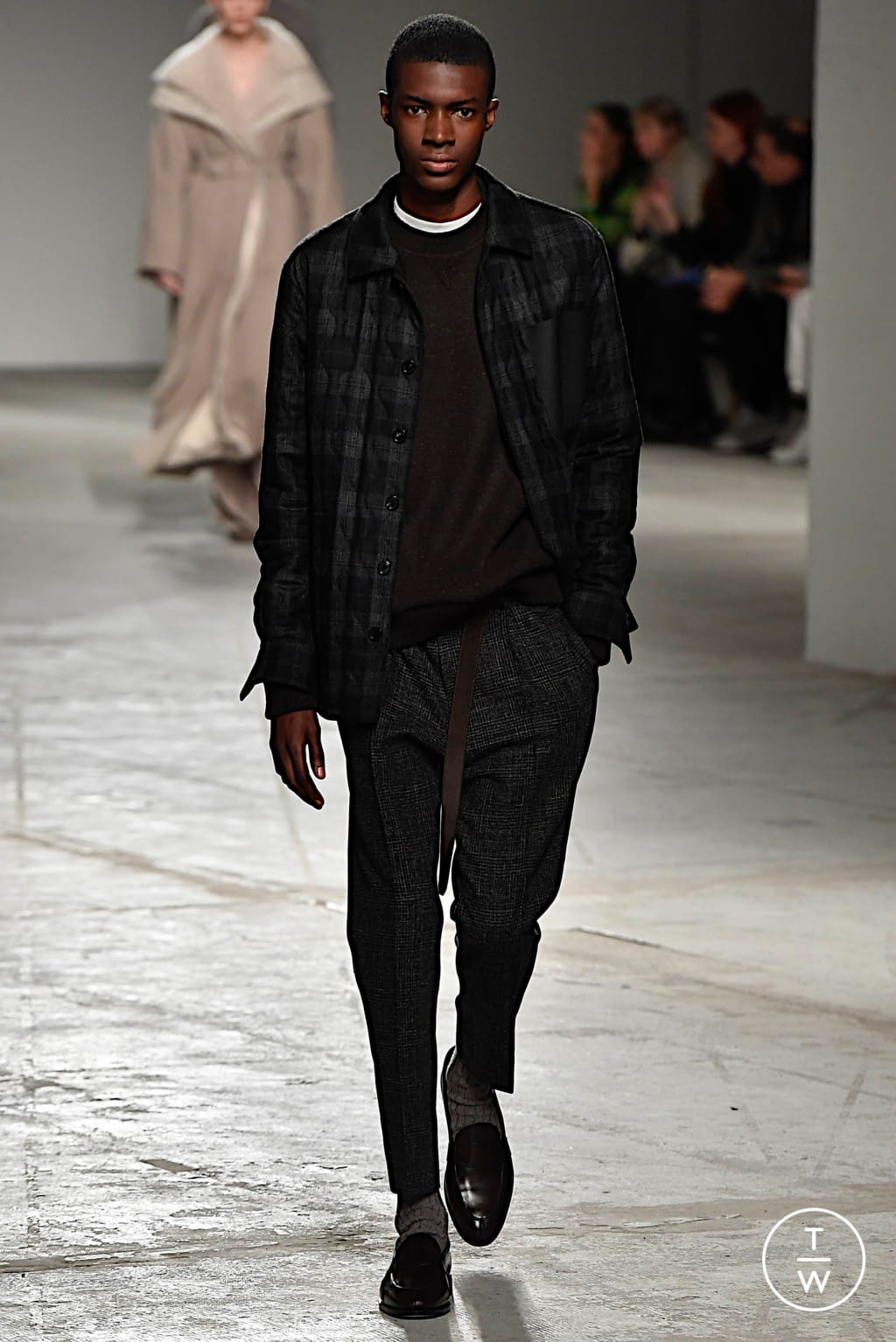 Fashion Week Milan Fall/Winter 2020 look 24 from the Agnona collection womenswear