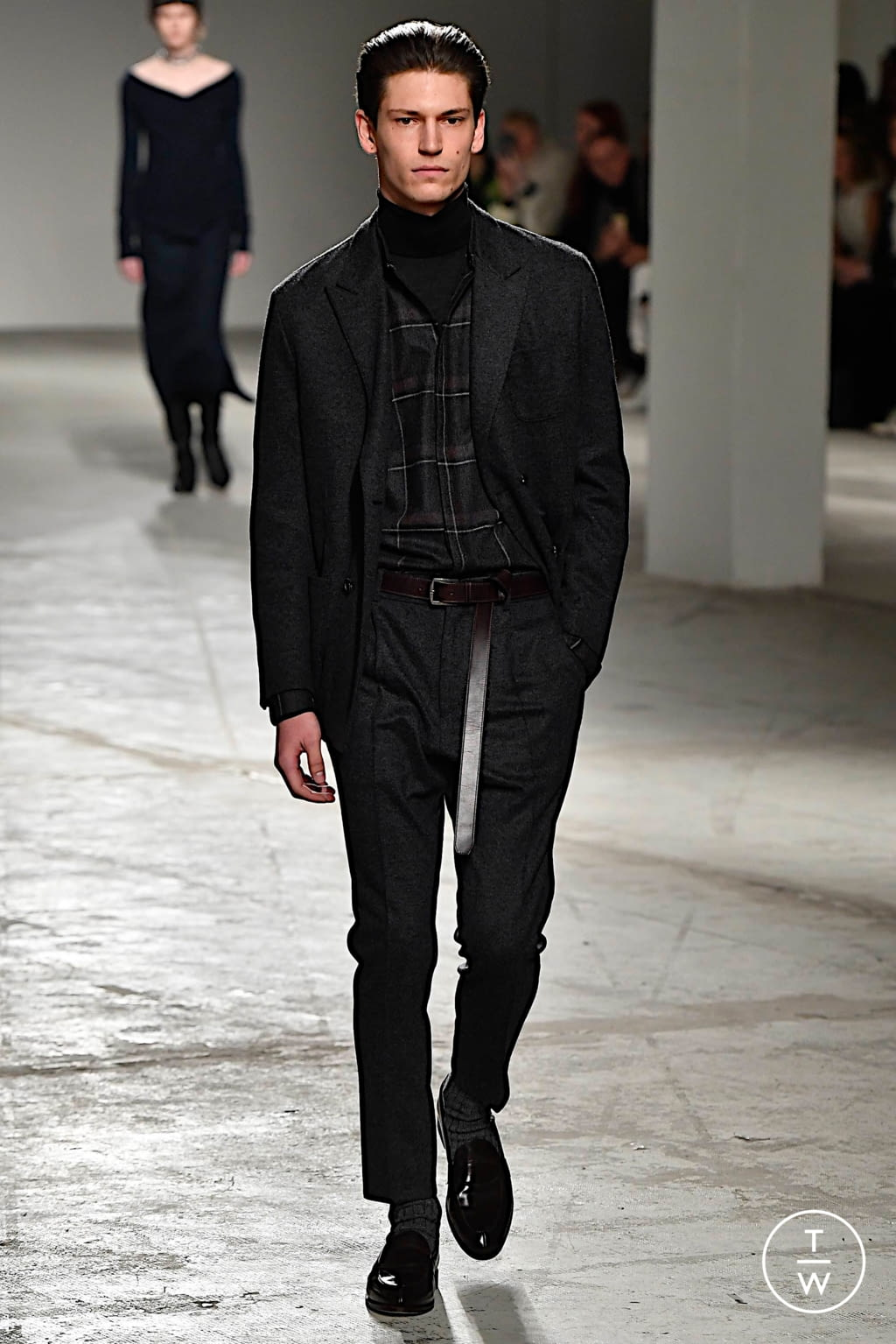 Fashion Week Milan Fall/Winter 2020 look 43 from the Agnona collection womenswear