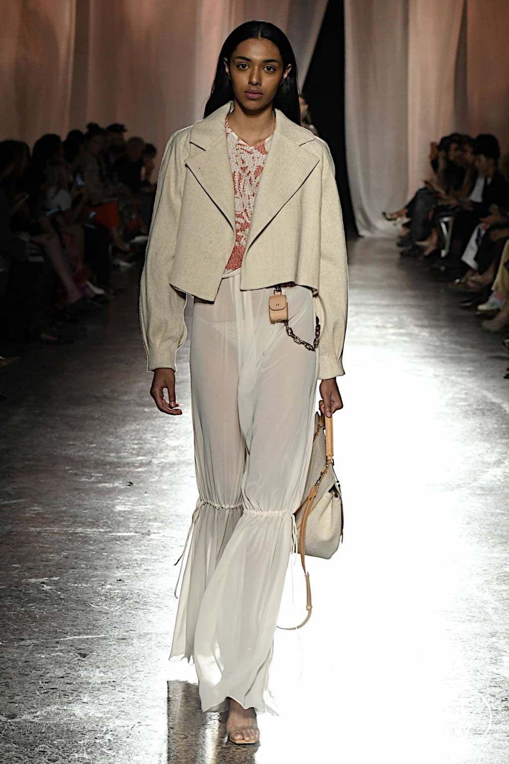 Fashion Week Milan Spring/Summer 2020 look 12 from the Aigner collection womenswear