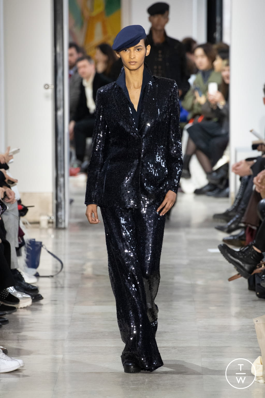 Fashion Week Paris Fall/Winter 2020 look 28 from the Akris collection womenswear