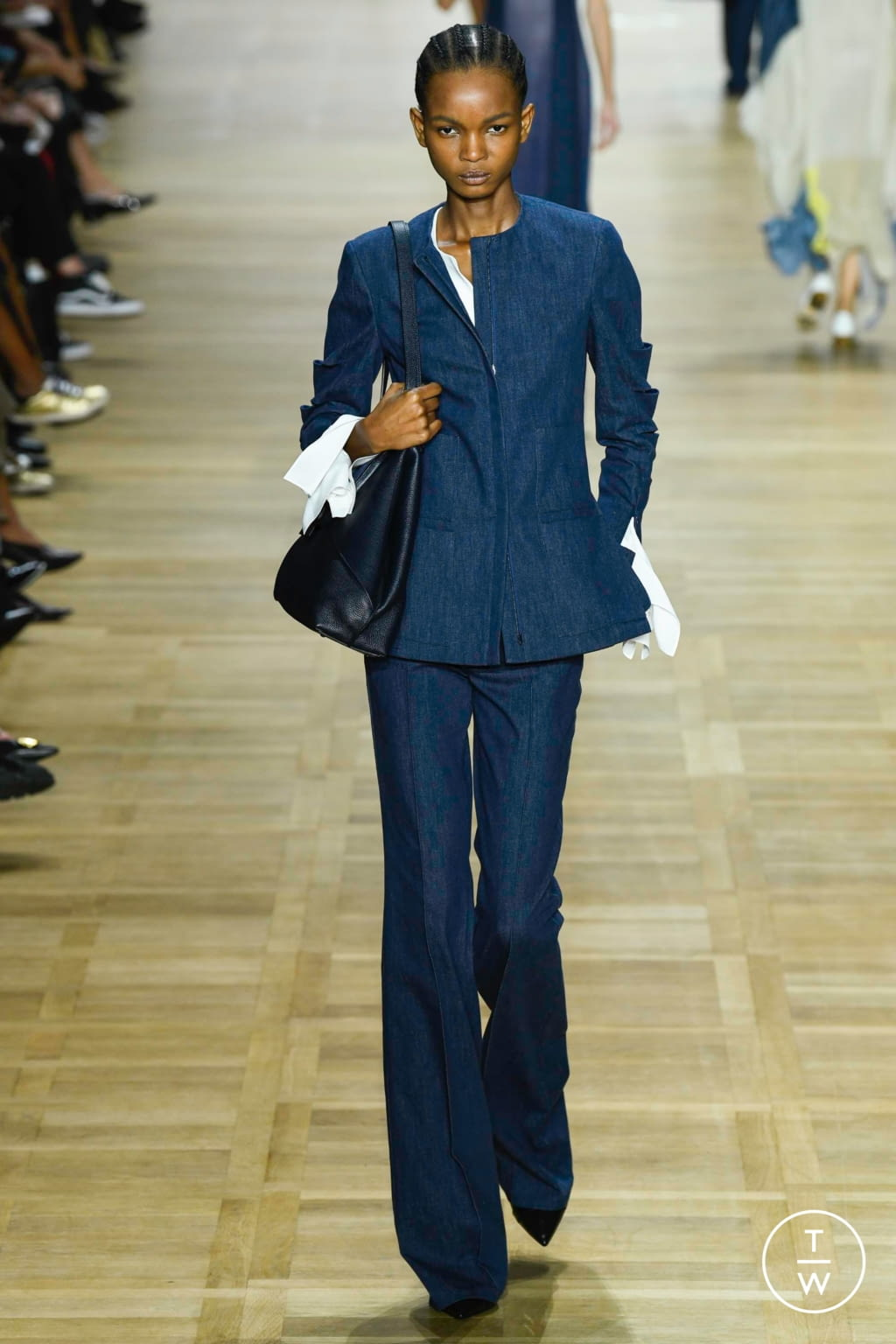 Fashion Week Paris Spring/Summer 2020 look 23 from the Akris collection womenswear
