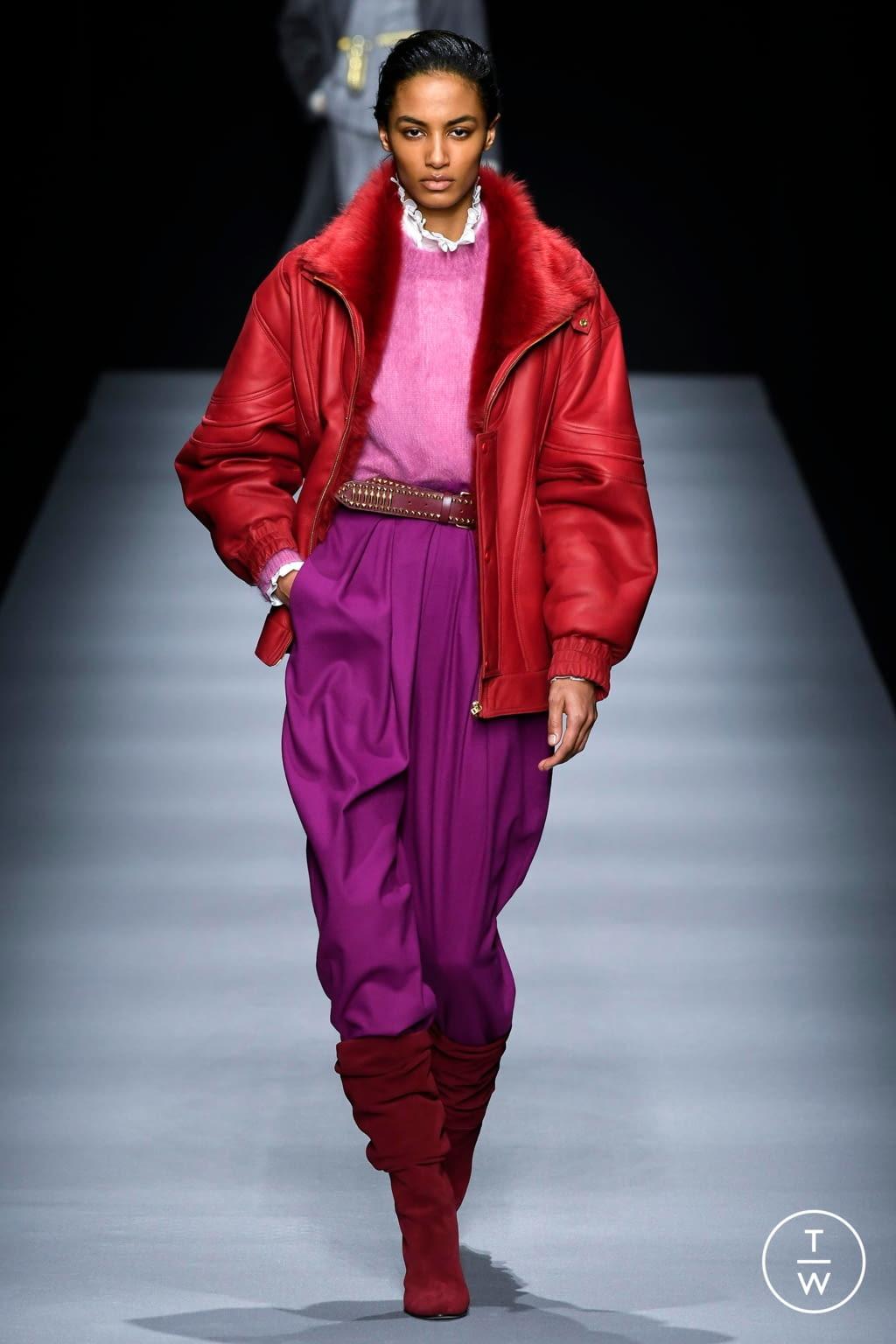 Fashion Week Milan Fall/Winter 2020 look 27 from the Alberta Ferretti collection womenswear